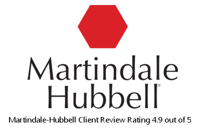 Martindale-Hubbell Client Review Rating